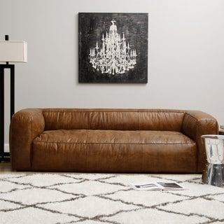 Diva Leather Outback Bridle Sofa