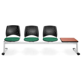 OFM Star Series Beam Shamrock 3-seat Seating