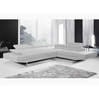 Nova White Sectional