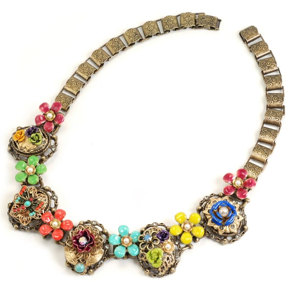 Sweet Romance Mayan Garden Necklace