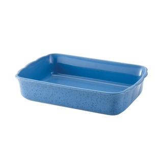 Paula Deen Signature Stoneware Speckled Blueberry 9x13-inch Rectangular Baker
