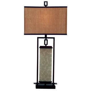 Abriella 1-light Oil Rubbed Bronze Table Lamp