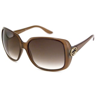Gucci Women's GG3166 Rectangular Sunglasses