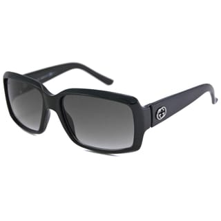 Gucci Women's GG3506 UV-Resistant Rectangular Sunglasses