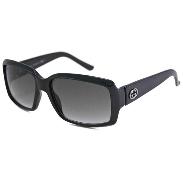 Gucci Women's GG3506 UV-Resistant Rectangular Sunglasses