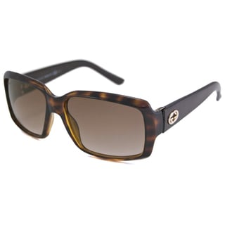 Gucci Women's GG3506 Rectangular Sunglasses