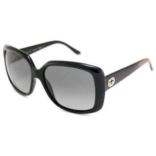 Gucci Women's GG3574 Polarized/ Rectangular Sunglasses
