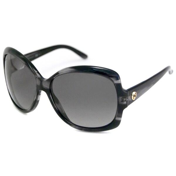 Gucci Women's GG3581 Polarized/ Rectangular Sunglasses