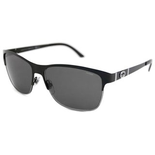 Gucci Women's GG4232 Polarized/ Rectangular Sunglasses