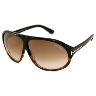 Tom Ford Men's TF0241 Nicolo Scratch-Resistant Rectangular Sunglasses