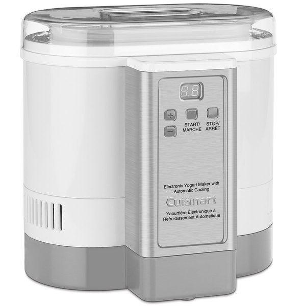 Cuisinart CYM-100 Electronic Automatic Cooling Yogurt Maker 11322576