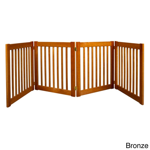 Dynamic Accents Highlander 27-inch, 4-panel Free Standing EZ Gate