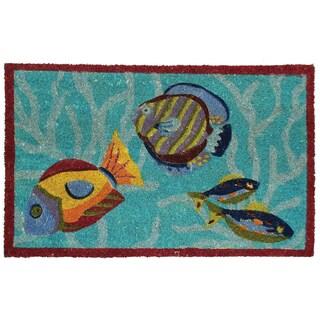 Omne 18 x 30-inch Coir Doormat