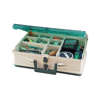 Plano Magnum Tackle Box Double Side Sandstone / Green 1119-06