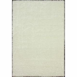 nuLOOM Sparkle Plush White Shag Rug (5'3 x 7'6)