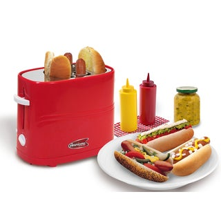 Maxi-Matic Elite Americana ECT-304R Red Hot Dog Toaster