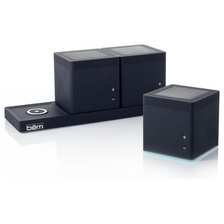 Bem HL2002B Speaker System - 6 W RMS - Wireless Speaker(s) - Black