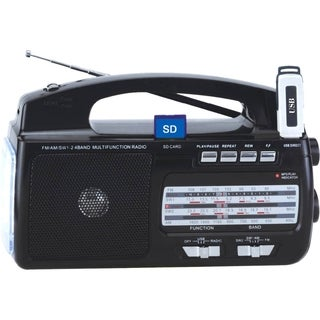 Supersonic 4 Band AM/FM/SW1-2 Portable Radio