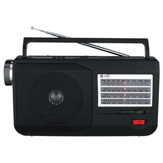 Supersonic 5 Band AM/FM/TV/SW Portable Radio