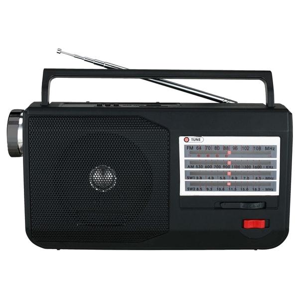 Supersonic 5 Band AM/FM/TV/SW Portable Radio