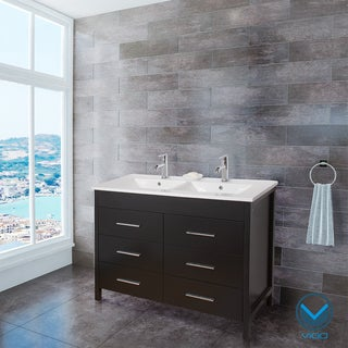 Vigo 48-inch Maxine Double Bathroom Vanity