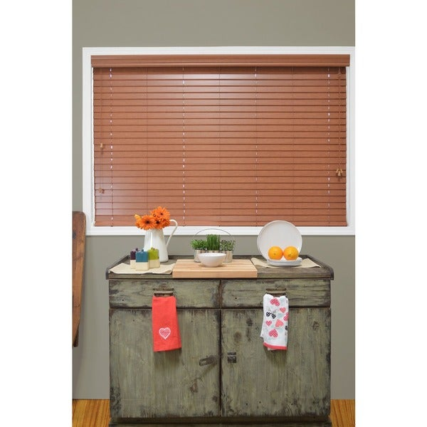Chicology 'Blaze' Faux Wood Window Blinds
