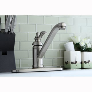 Satin Nickel Kitchen Faucet