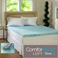 Beautyrest 4-inch Flat Gel Memory Foam Mattress Topper