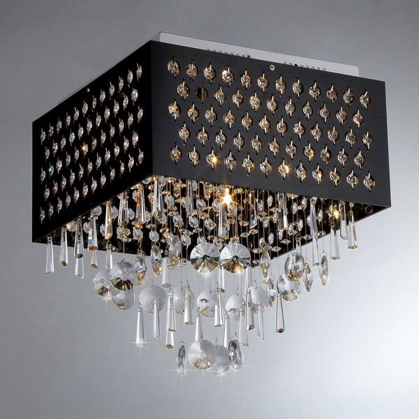Aphrodite Chrome Ceiling Lamp