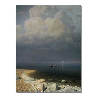 Arkip Kuindzi 'Lake Ladoga' Canvas Art