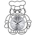 Baker Wall Clock