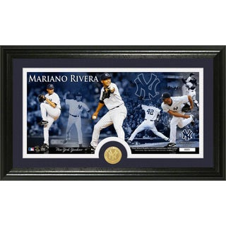 Mariano Rivera Bronze Coin Panoramic Photo Mint