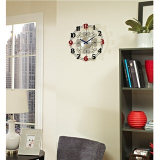 Decorative Metal Wire Wall Clock