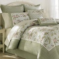 Laura Ashley 'Avery' Traditional Cotton 4-piece Comforter Set (Additional Shams Sold Separately)