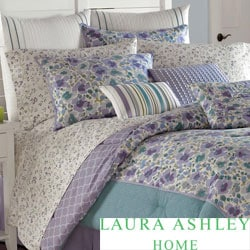 Laura Ashley Arietta 4-piece Cotton Comforter Set