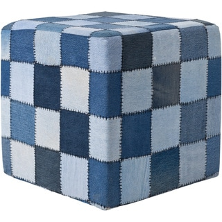 Mandara Handmade Denim Fabric Poufs