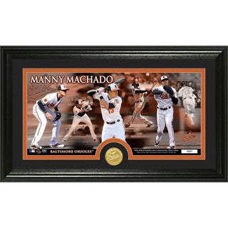 Manny Machado Bronze Coin Panoramic Photomint