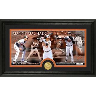 Manny Machado Bronze Coin Panoramic Photomint
