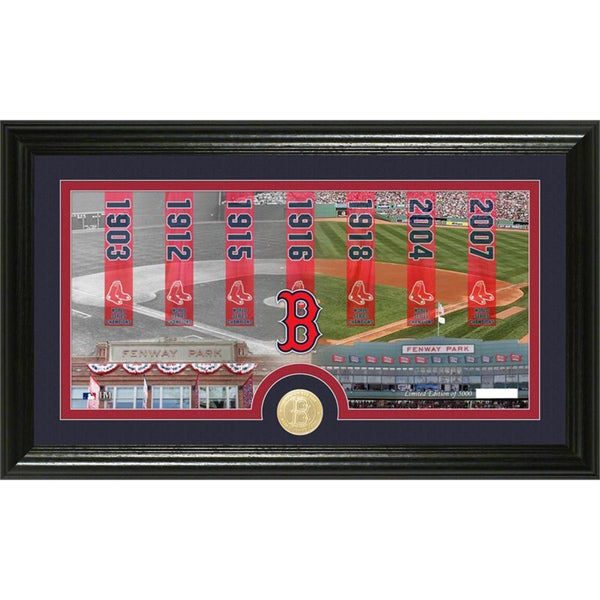 Boston Red Sox 'Traditions' Minted Coin Panoramic Photo Mint