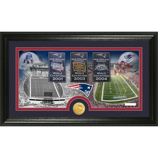 New England Patriots 'Traditions' Minted Coin Panoramic Photo Mint