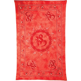Floating 'Om' Tapestry (India)
