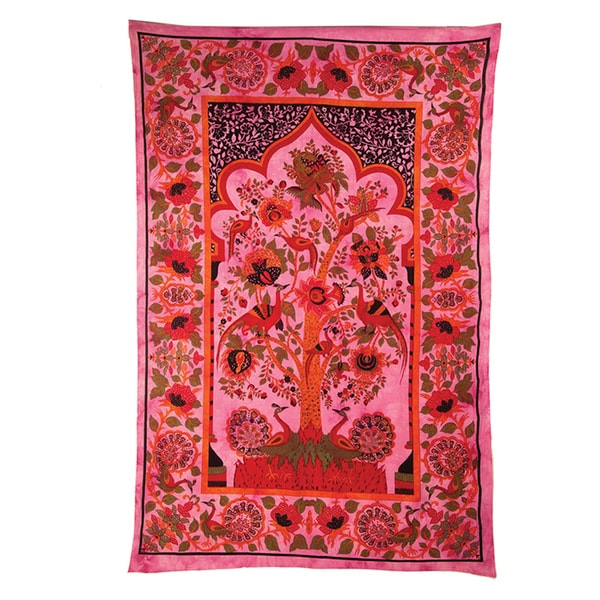 Tree of Life and Happiness Tapestry (India)