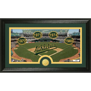 Oakland Athletics 'Traditions' Panoramic Bronze Coin Photo Mint