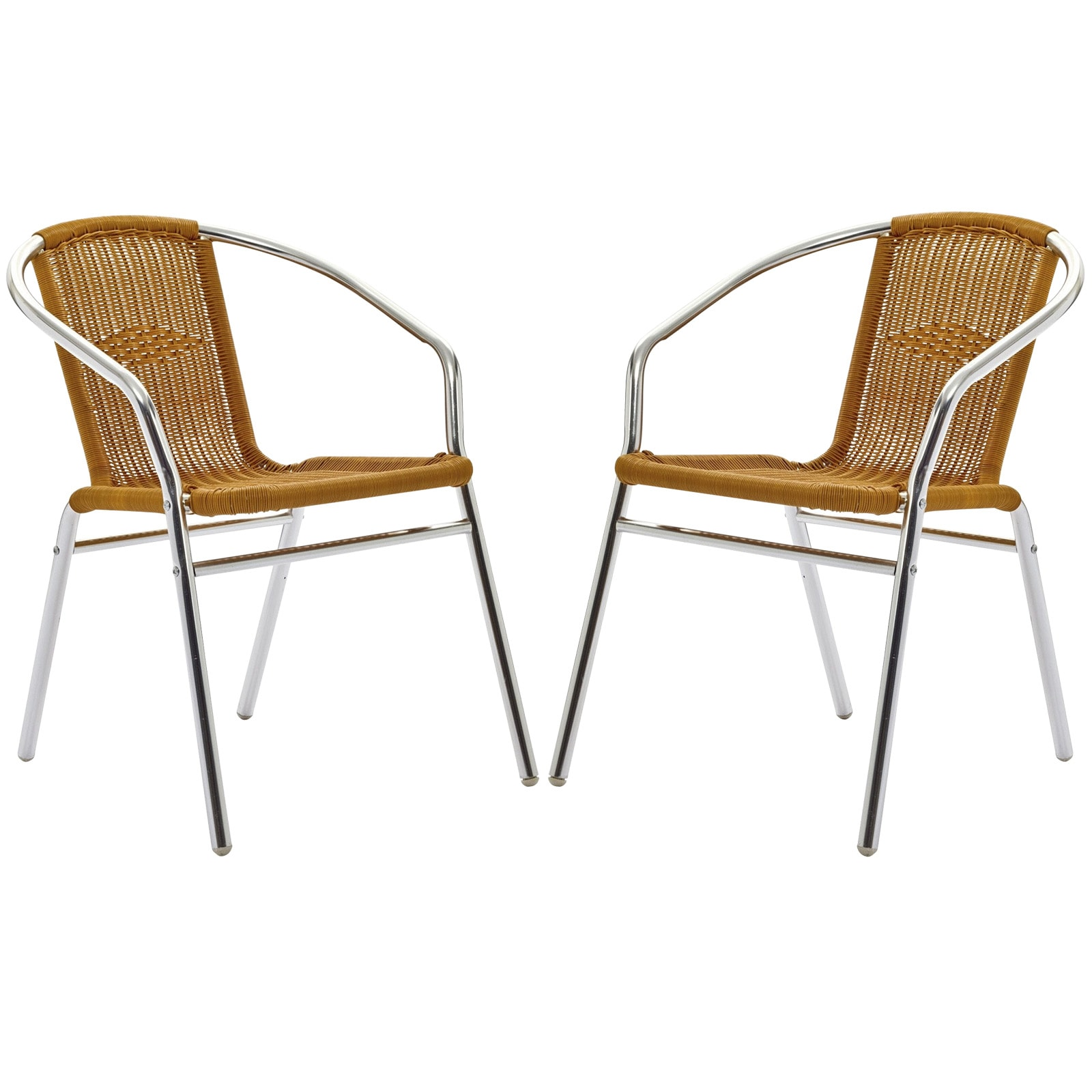 Modern cafe furniture 1349955033 97520800 jpg - Filename Chromed Rattan Outdoor Cafe Chairs Set Of 2 Fe32ec61 6e1b 4b4a Bdbb F4bd1cb6719b Jpg