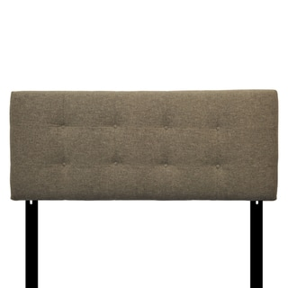 8-button Tufted Mondavi Silver Headboard