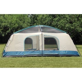 Texsport Blue Mountain 2-Room 8-Person Dome Tent