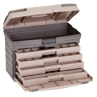 Plano hard systems 4 drawer top access tackle box for Overstock furniture and mattress plano
