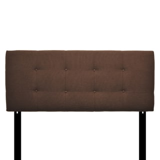 8-button Tufted Camille Bark Headboard