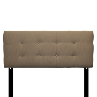 8-button Tufted Arcadia Pebble Headboard
