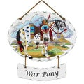 Joan Baker War Pony Suncatcher